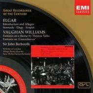 EMI GROC世紀原音系列60-巴畢羅里(Sir John Barbirolli)/英國弦樂經典(艾爾加、佛漢威廉士etc.)(Vaughan Williams & Elgar)【1CD】