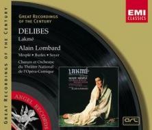 EMI GROC世紀原音系列93-梅斯普蕾、隆巴德(Alain Lombard)指揮法國國立歌劇院管絃樂團/德利伯:拉克美(Delibes:Lakme)【2CDs】