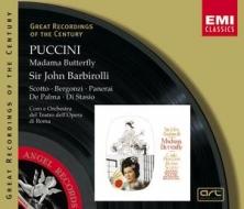 EMI GROC世紀原音系列110-巴畢羅里(Sir Thomas Beecham)指揮羅馬歌劇院管絃樂團與合唱團、史柯朵/普契尼:蝴蝶夫人(Puccini:Madam Butterfly)【2CDs】