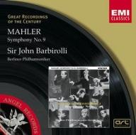 EMI GROC世紀原音系列103-巴畢羅里(Sir John Barbirolli)、柏林愛樂管弦樂團/馬勒:第九號交響曲(Mahler:Symphony No.9)【1CD】