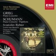 EMI GROC世紀原音系列114-史維亞托史拉夫、李希特(Sviatoslav Richter)、梅塔契克、克里夫蘭管弦樂團/葛利格、舒曼:鋼琴協奏曲(Grieg & Schumann:Piano Concertos)【1CD】