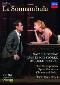 DECCA 佛瑞茲(Juan Diego Flórez)、德賽(Natalie Dessay)/貝里尼:夢遊女[Bellini: La Sonnambula]【1DVD】