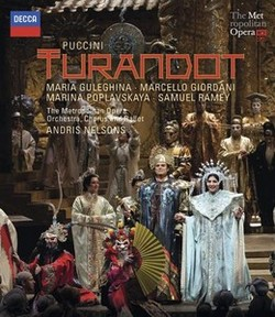 DECCA 涅爾森(Andris Nelsons)/普契尼:杜蘭朵公主[Puccini: Turandot]【1BR】