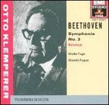 """【小閔的古典音樂世界】EMI 克倫培勒(Otto Klemperer)/貝多芬: 第三號交響曲「英雄」/大賦格曲[Beethoven: Symphony No.3 """"Eroica"""", Große Fuge, Op.133]【1CD】"""
