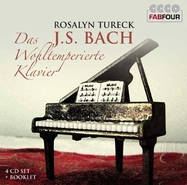 Membran 杜蕾克(Rosalyn Tureck)/小瓦礫系列 - 巴哈:平均律全集[Wallet - Bach: The Well-Tempered Clavier]【4CDs】