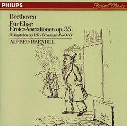 【小閔的古典音樂世界】DECCA 布蘭德爾(Alfred Brendel)/貝多芬:給愛麗絲、英雄變奏曲 等[Beethoven: Für Elise; Eroica Variations]【1CD】
