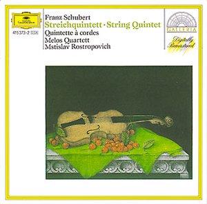 DG 畫廊系列01 羅斯托波維契(Mstislav Rostropovich) & 梅洛斯四重奏團(Melos Quartett)/舒伯特:弦樂五重奏(Schubert: String Quintet D.956)【1CD】