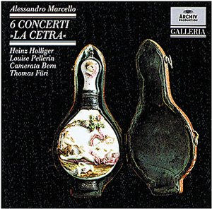 "DG 畫廊系列53 霍利格(Heinz Holliger)/馬切羅:6首小協奏曲(Marcello:6 Concerti ""La Cetra"")【1CD】"