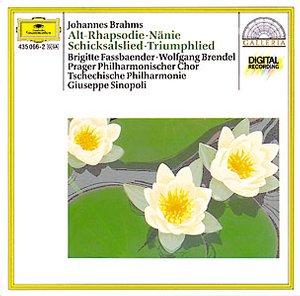 DG 畫廊系列71 辛諾波里(Giuseppe Sinopoli)/布拉姆斯:女低音狂想曲(BRAHMS:Alto Rhapsody)【1CD】