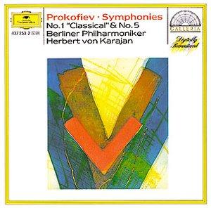 "DG 畫廊系列79 卡拉揚(Herbert von Karajan)/普羅高菲夫:第1、5號交響曲(PROKOFIEV:Symphonie No.1""Classical"", Symphonie No.5 op.100)【1CD】"