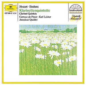 DG 畫廊系列82 萊斯特(Karl Leister)/莫札特、布拉姆斯:單簧管五重奏(BRAHMS:Clarinet Quintet in B minor,Op.115, MOZART:Clarinet Quintet in A,K.581)【1CD】