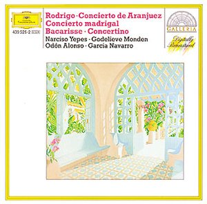 DG 畫廊系列84 耶佩斯(Narciso Yepes)/羅德里哥:阿蘭輝茲協奏曲etc.(RODRIGO:Concierto de Aranjuez for Guitar and Orchestra,etc.)【1CD】