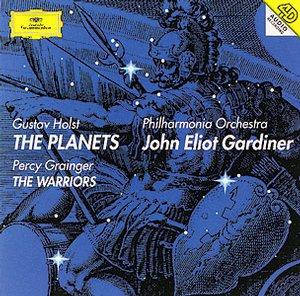 【小閔的古典音樂世界】DG 霍爾斯特:行星組曲/格蘭傑:武士們【1CD】