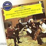 【小閔的古典音樂世界】DG 吉利爾斯(Emil Gilels) & 阿瑪迪斯弦樂四重奏團(Amadeus Quartet)/大花版系列9 - 布拉姆斯:鋼琴四重奏第1號、4首敘事曲[Brahms:Piano Quartet No.1、4 Ballades, Op.10]【1CD】