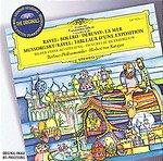 【小閔的古典音樂世界】DG 卡拉揚(Herbert von Karajan)/大花版系列22 - 穆索斯基:展覽會之畫、拉威爾:波麗露、德布西:海[Mussorgsky:Pictures at an Exhibition、Ravel:Boléro、Debussy:La Mer]【1CD】