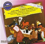 【小閔的古典音樂世界】DG 雅諾薇茲(Gundula Janowitz) & 費雪狄斯考(Dietrich Fischer-Dieskau) & 約夫姆(Eugen Jochum)/大花版系列30 - 奧夫:布蘭詩歌[Orff:Carmina Burana]【1CD】