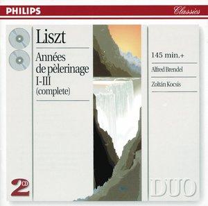 【小閔的古典音樂世界】DECCA 布蘭德爾(Alfred Brendel) & 柯西斯(Zoltán Kocsis)/李斯特:巡禮之年[Liszt: Années de pèlerinage, Books 1-3]【2CDs】