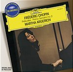 DG 阿格麗希(Martha Argerich)/大花版系列 154- 蕭邦:前奏曲集、鋼琴奏鳴曲第2號[Chopin:Préludes、Piano Sonata No.2]【1CD】