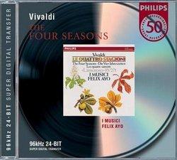 DECCA 阿優(Felix Ayo)/韋瓦第:四季小提琴協奏曲[Vivaldi: The Four Seasons]【1CD】