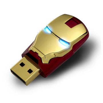 InfoThink 鋼鐵人3造型隨身碟【8GB】 - MARK VI經典款
