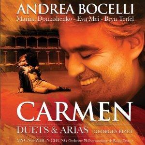 Universal 波伽利(Andrea Bocelli) & 特菲爾(Bryn Terfel)/比才:歌劇《卡門》選粹[Bizet,Carmen : Duets & Arias]【1CD】