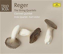 DG-TRIO系列 萊斯特&德洛克弦樂四重奏/里格:弦樂四重奏、單簧管五重奏【3CDs】