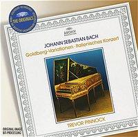ARCHIV 平諾克(Trevor Pinnock)/大花版系列190 - 巴哈:郭德堡變奏曲、義大利協奏曲[Bach:Goldberg Variations、Italian Concerto]【1CD】