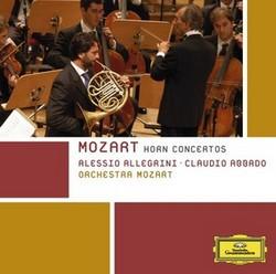 DG 阿列格里尼(Alessio Allegrini)/莫札特:四首法國號協奏曲[Mozart: Horn Concertos Nos. 1-4]【1CD】