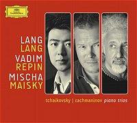DG 郎朗(Lang Lang) & 雷賓(Vadim Repin) & 麥斯基(Mischa Maisky)/拉赫曼尼諾夫:悲哀三重奏、柴可夫斯基:鋼琴三重奏《紀念一位偉大的藝術家》[Tchaikovsky & Rachmaninov : Piano Trios]【1CD】