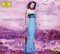 DG 慕特(Anne-Sophie Mutter)、普列文(André Previn)、哈瑞爾(Lynn Harrell)/孟德爾頌:小提琴協奏曲、第一號鋼琴三重奏、F大調小提琴奏鳴曲【1CD+1DVD】