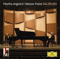 DG 阿格麗希(Martha Argerich) & 弗萊瑞(Nelson Freire)/阿格麗希與弗萊瑞:薩爾茲堡音樂節雙鋼琴音樂會[Martha Argerich / Nelson Freire :Salzburg]【1CD】