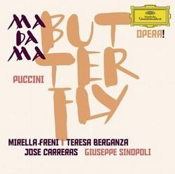 DG 辛諾波里(Giuseppe Sinopoli)/普契尼:歌劇《蝴蝶夫人》全曲[Puccini: Madama Butterfly]【2CDs】