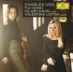 【小閔的古典音樂世界】DG 希拉蕊‧韓(Hilary Hahn)/艾伍士:四首小提琴奏鳴曲[Ives: 4 Violin Sonatas]【1CD】