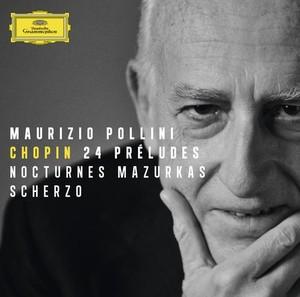 【小閔的古典音樂世界】DG 波里尼(Maurizio Pollini)/蕭邦:二十四首前奏曲、兩首夜曲[Chopin: 24 Preludes、2 Nocturnes, etc.]【1CD】