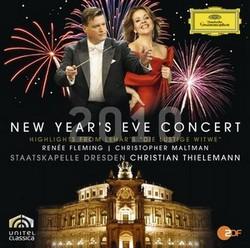 DG 提勒曼(Christian Thielemann) & 弗萊明(Renée Fleming)/2010年德勒斯登除夕音樂會 - 雷哈爾:輕歌劇《風流寡婦》選粹[New Year's Eve Concert Dresden 2010]【1CD】
