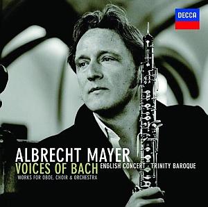 DECCA 麥爾(Albrecht Mayer)/天籟巴哈 - 雙簧管協奏曲集[Voice of Bach]【1CD】