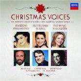 DECCA 帕華洛帝(Luciano Pavarotti) & 弗萊明(Renée Fleming) & 芭托莉(Cecilia Bartoli)/聖誕美聲-聖善夜、彌賽亞、平安夜、聖母頌、普世歡騰、天使的麵包、聽,天使在唱歌!等[Christmas Voices]【2CDs】