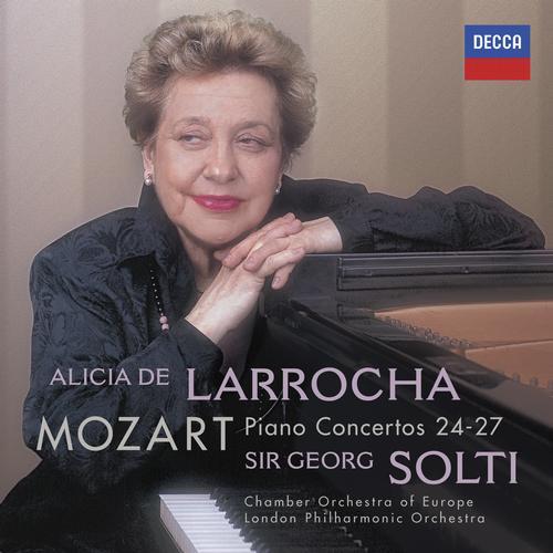 DECCA 拉蘿佳(Alicia de Larrocha) & 蕭提(Georg Solti)/莫札特:鋼琴協奏曲24-27號[Mozart: Piano Concertos Nos. 24-27]【2CDs】