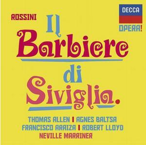 DECCA 芭兒莎(Agnes Baltsa)/羅西尼:塞維里亞理髮師[Rossini: Il Barbiere di Siviglia]【2CDs】