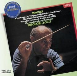 DECCA 蕭提(Georg Solti)/華格納:序曲與前奏曲[Wagner: Overtures & Preludes ]【1CD】