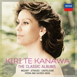 DECCA 卡娜娃經典專輯 - 70歲生日慶賀專輯[Kiri Te Kanawa - THE CLASSIC ALBUMS (70th birthday celebration)]【6CDs】
