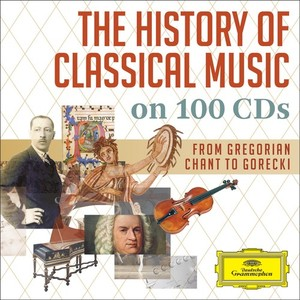 DG 古典音樂史──百年最強寶典(超低價限量發行)[The History of Classical Music on 100 CDs (Limited Edition)]【100CDs】