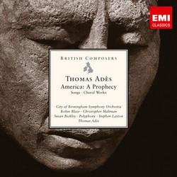 EMI 阿德斯(Thomas Adès)/英國作曲家系列 - 阿德斯:預言美國[British Composers - Thomas Adès: America A Prophecy]【1CD】