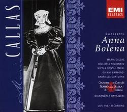 EMI 卡拉絲(Maria Callas)/董尼采第:安娜.波蓮娜 - 1957年現場錄音[Donizetti: Anna Bolena]【2CDs】