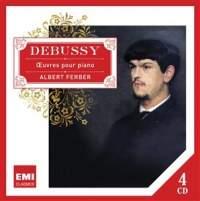 【小閔的古典音樂世界】EMI 艾伯特法柏(Albert Ferber)/法柏演奏德布西鋼琴作品全集[Debussy: Oeuvres pour piano]【4CDs】