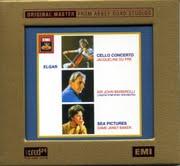 EMI 杜普蕾(Jacqueline du Pré) & 珍娜‧貝克(Janet Baker) & 巴畢羅里(John Barbirolli)/艾爾加:大提琴協奏曲、海景[Elgar: Cello Concerto, Sea Pictures]【1XRCD】