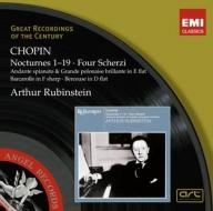 EMI GROC世紀原音系列203-魯賓斯坦(Rubinstein)/蕭邦:夜曲、詼諧曲等(Chopin:Nocturnes, Scherzi)【2CDs】