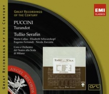 EMI GROC世紀原音系列206-卡拉絲(Maria Callas)、舒娃茲柯芙&賽拉芬/普契尼:杜蘭朵公主(Puccini:Turandot)【2CDs】