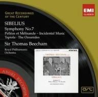 EMI GROC世紀原音系列208-畢勤(Sir Thomas Beecham)/西貝流士:第七號交響曲、佩利亞與梅麗桑等(Sibelius:Symphony No. 7 etc.)【1CD】