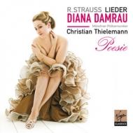 Virgin 黛安娜丹姆勞(Diana Damrau) & 提勒曼(Christian Thielemann)/詩情弦歌-理查史特勞斯:管弦樂藝術歌曲集[Strauss : Lieder]【1CD】